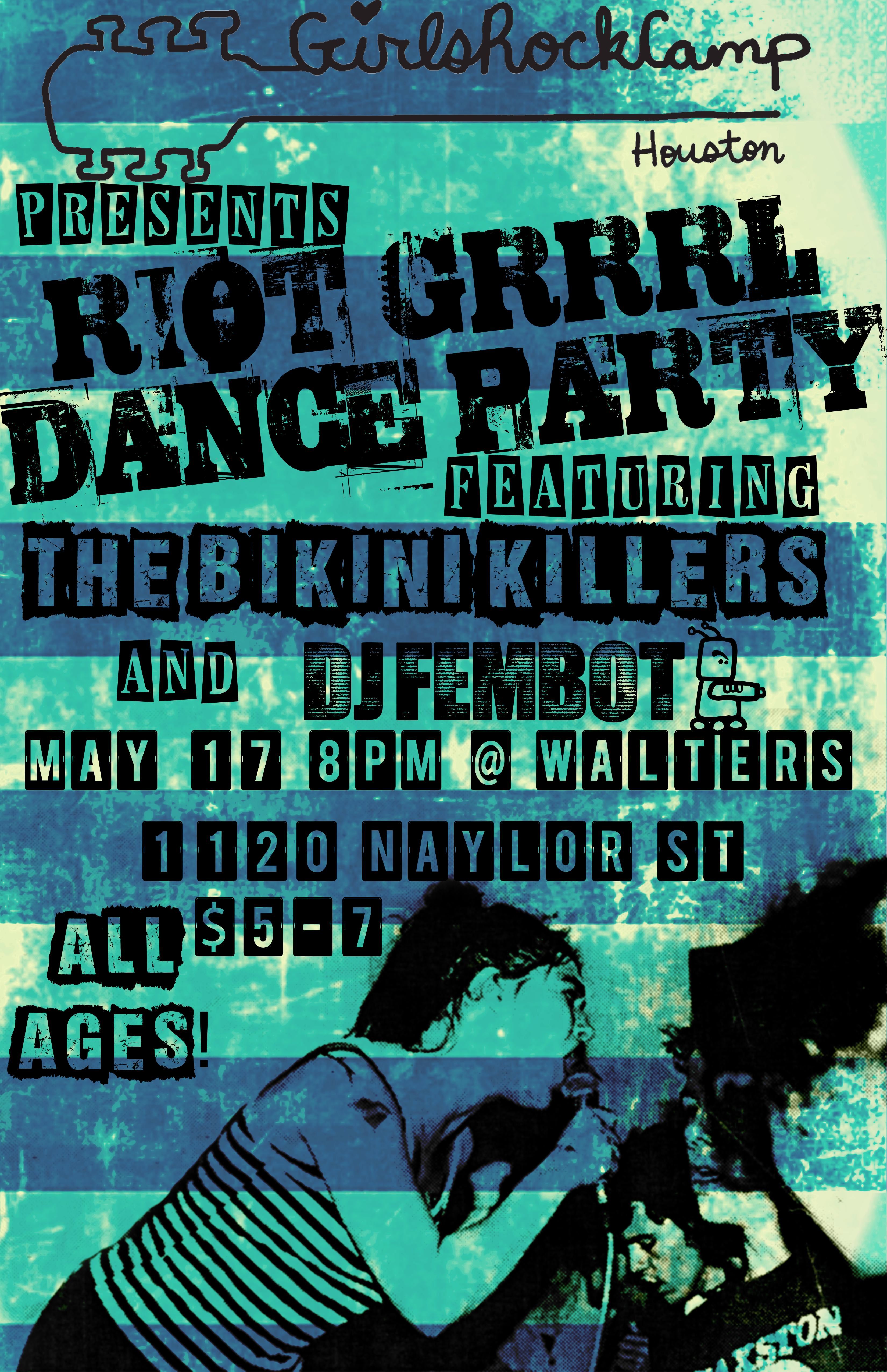 Riot Grrrl Dance Party